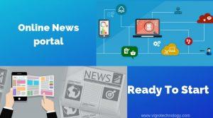 New Portal website design