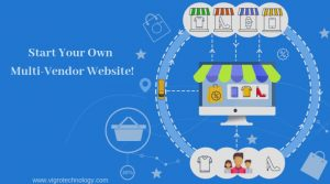 Multi-vendor shopping website design Near by