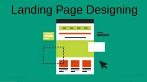 landing page designing in India